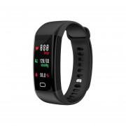 EY F07 Waterproof Smartband Monitor De Ritmo Cardíaco Presión Sanguínea Rastreador De Fitness-Negro
