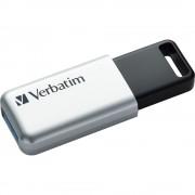 Memoria USB 3.0 Verbatim con Crittografia AES 64GB Silver