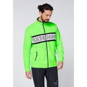 CHIEMSEE Herren Sweatjacke aus Fleece, Green Gecko M