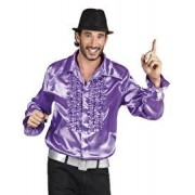 Disco blouse Toppers paars