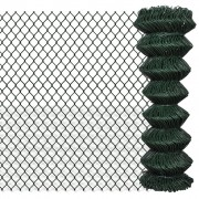 vidaXL Štvorhranné pletivo 1,25 x 25 m zelené
