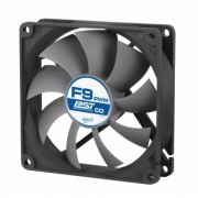 FAN, Arctic Cooling F9 PWM PST CO, 2Ball, 550-1800rpm (AFACO-090PC-GBA01)