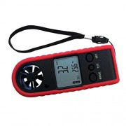 ELECTROPRIME Handheld Anemometer Wind Speed Air Velocity Thermomoter Chill Meter Sailing