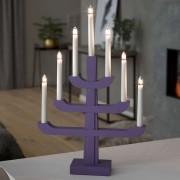 Candleholder Charis in violet