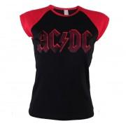 tricou stil metal femei AC-DC - Higway Lightning - PLASTIC HEAD - PH9287G