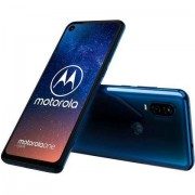 Motorola one vision smartphone (16 cm / 6,3 inch, 128 GB, 12MP-camera) - 299.00 - blauw