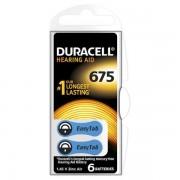 DURACELL EASY TAB675 BLU - BLISTER 6 BATTERIE DA675-MELDU81