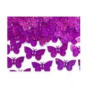 Confetti Holografic Fluturi Violet