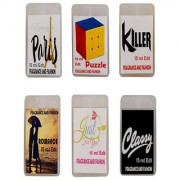 Fragrance And Fashion Evening In Paris Puzzle Killer Romance Just For You Classy Edt of 15 Ml Each