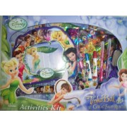 Disney Fairies Tinkerbell and The Great Fairy Rescue 12 Piece Activities Kit