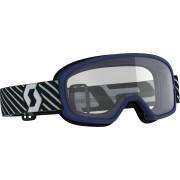 Scott Buzz Kids Motocross Goggles Blue One Size