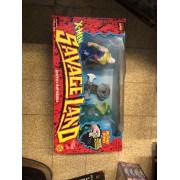 X-Men Savage Land Joseph & Amphibious Marvel Comics Action Figures Toy Biz 1997