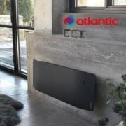 ATLANTIC Radiateur électrique Atlantic DIVALI Plinthe 1500W Pilotage Intelligent Connecté Lumineux GRIS - 507633