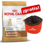 Royal Canin Breed 9 a 12 kg + comedero de viaje ¡gratis! - Boxer Junior (12 kg)