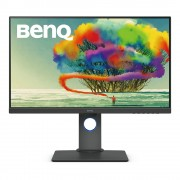 "Monitor IPS, BENQ 27"", PD2700U, 4ms, 20Mln:1, 100% sRGB, HDMI/DP, Speakers, UHD 4K (9H.LHALB.QBE)"