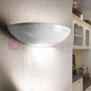 Ceramiche Borso Borgo Di Luce Applique Vaschetta Aperta In Ceramica Bianca D.39