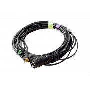 Cable ASPOCK 7 PIN 4,5 m para remolques ligeros