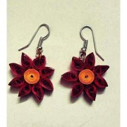 Paper Quilling Earring
