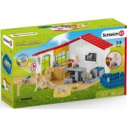 Set figurine Schleich-Cabinet veterinar cu animale de casa