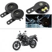 KunjZone Horn 12V 105db Scooter Moped Dirt ATV Motorbike Moto Bikes Horn Loud Air Horns Motorbike Classic Horns (Set of 2) For Honda CB Trigger