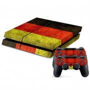Germany Vlag patroon Stickers voor PS4 Game Console