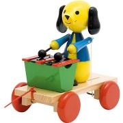 Woody Húzogatós kiskutya xilofonnal