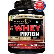 MuscleXP 100 Whey Protein - 2Kg (4.4 lbs) Double Chocolate - The New Whey Standards