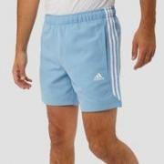 Adidas Essentials 3-stripes chelsea short blauw heren