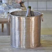 Grand seau à Champagne aluminium 26x25cm