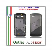 Scocca Cover Housing Completa Tasti flat per HTC Sensation 4g Pyramid Originale