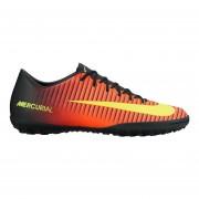 Zapatos Fútbol Hombre Nike Mercurial Victory VI TF-Rojo Y Negro