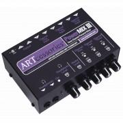 ART PowerMIX III Mezclador estéreo compacto 3 canales