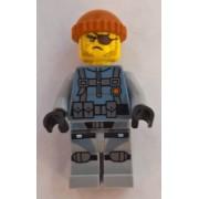 njo325 Minifigurina LEGO Ninjago-Movie-Shark Army Thug njo325