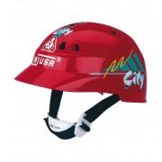 Casco Moto Infantil Rojo - Injusa