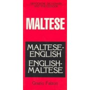 Maltese-English/English-Maltese Dictionary and Phrasebook, Paperback/Grazio Falzon