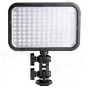 Godox 2200lm 6500K 126-LED de luz de video - Negro (6 * AA / 1 * NP-F970)