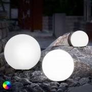 Esotec Set de 3 balles solaire LED, changement de couleur