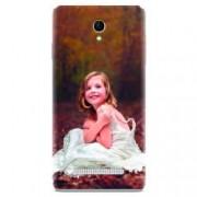 Husa silicon pentru Allview E4 Lite Girl In Wedding Dress Atest Autumn
