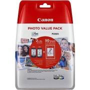 Canon PG-545XL + CL-546XL + fotópapír GP-501