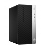 Desktop, HP ProDesk 400 G5 МТ /Intel i3-8100 (3.6G)/ 4GB RAM/ 1000GB HDD/ Win10 Pro + подарък KBD&Mouse (4HR93EA)