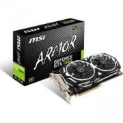Видео карта NVIDIA GeForce GTX 1060 ARMOR, 6GB, MSI GTX 1060 ARMOR 6G OCV1, PCI-E 3.0, GDDR5, 192-bit