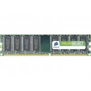 PC-werkgeheugen module Corsair ValueSelect VS1GB400C3 1 GB 1 x 1 GB DDR-RAM 400 MHz CL3 3-3-8