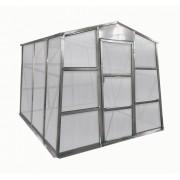 Üvegház GZ 48 - 251 x 191 cm, galvanizált, alapzattal