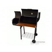 Perfect Home 13088 Gril sa kotačima, komorom za dimljenje i stolićem