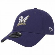 New Era 9Forty The League Brewers Cap Baseballcap Basecap MLB Milwaukee Curved Brim Kappe