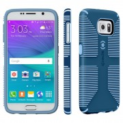 Speck CandyShell Grip Case for Samsung Galaxy S6 - Harbor Blue/Periwinkle Blue
