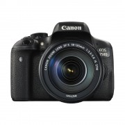 Canon EOS 750D DSLR + 18-135mm IS STM open-box