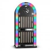 Memphis WD Jukebox Bluetooth FM 2 x AUX Legno