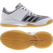 adidas Damen-Volleyballschuh LIGRA 5 W - ftwr white/silver met./silver