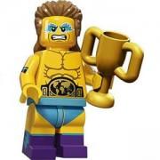 Идентифицирана минифигурка Лего Серия 15 Шампион по борба - Lego series 15 - Wrestling champion, 71011-14